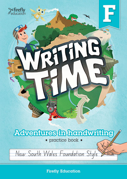 Writing Time Foundation Student Book (NSW Foundation Style)