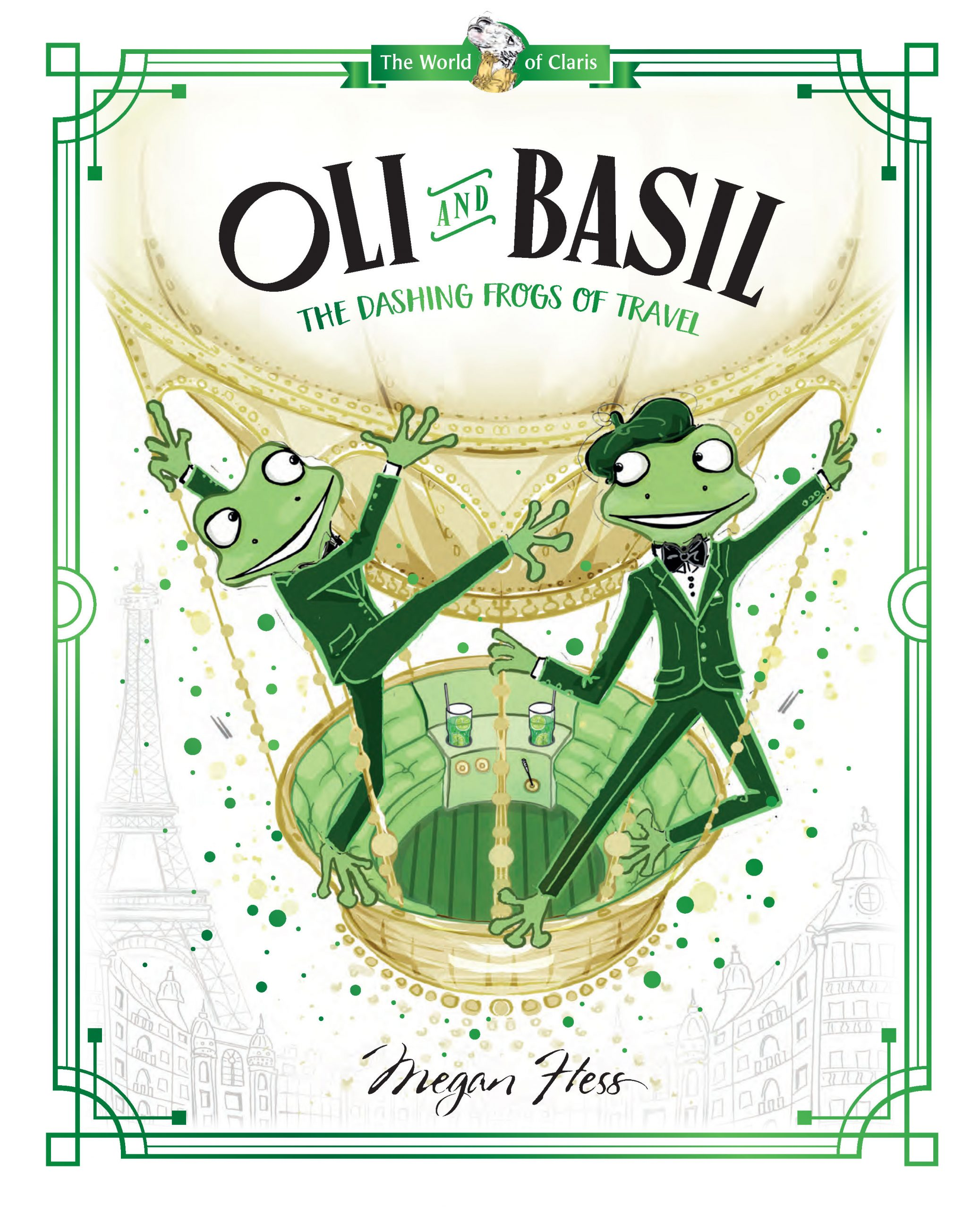 Oli and Basil: The Daring Frogs of Travel