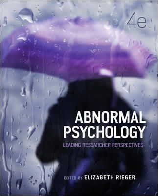 Abnormal Psychology, 4th Edition