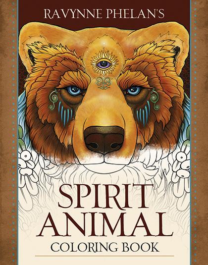 Ravynne Phelan's Spirit Animal Coloring Book