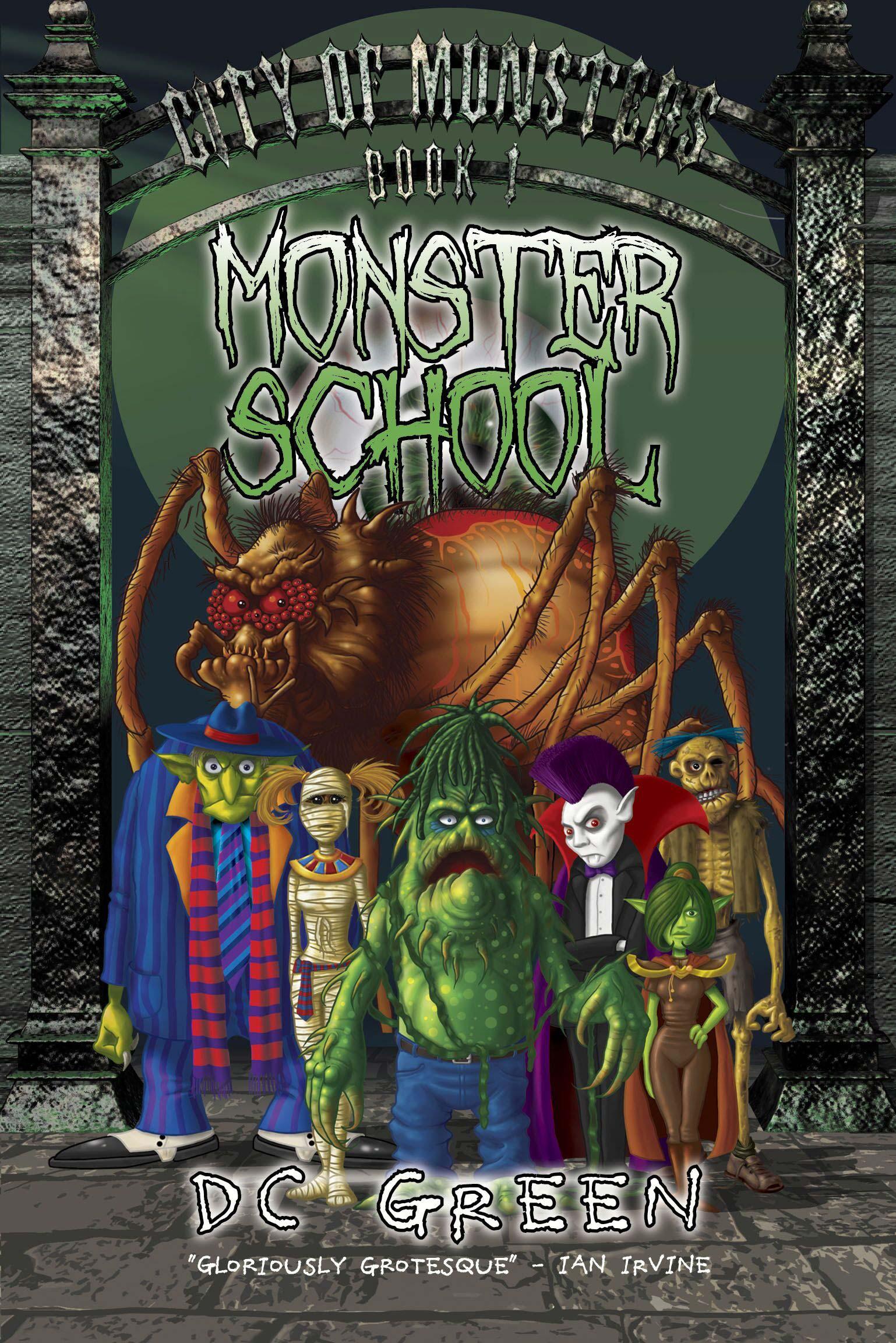 Monster School: City of Monsters Book 1