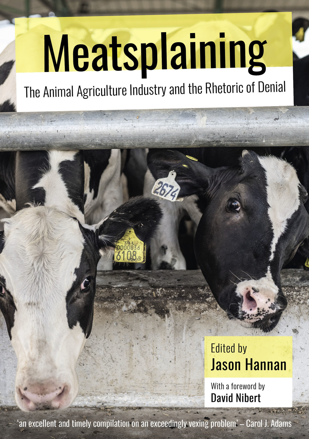 Meatsplaining: The Animal Agriculture Industry and the Rhetoric of Denial