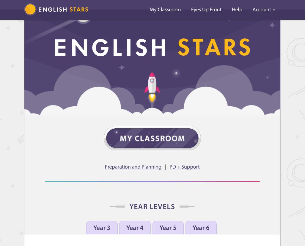 English Stars (Years 3 – 6)