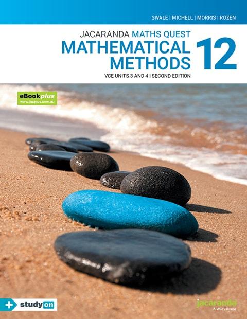 Maths Quest 12 Mathematical Methods VCE Units 3 and 4 2e