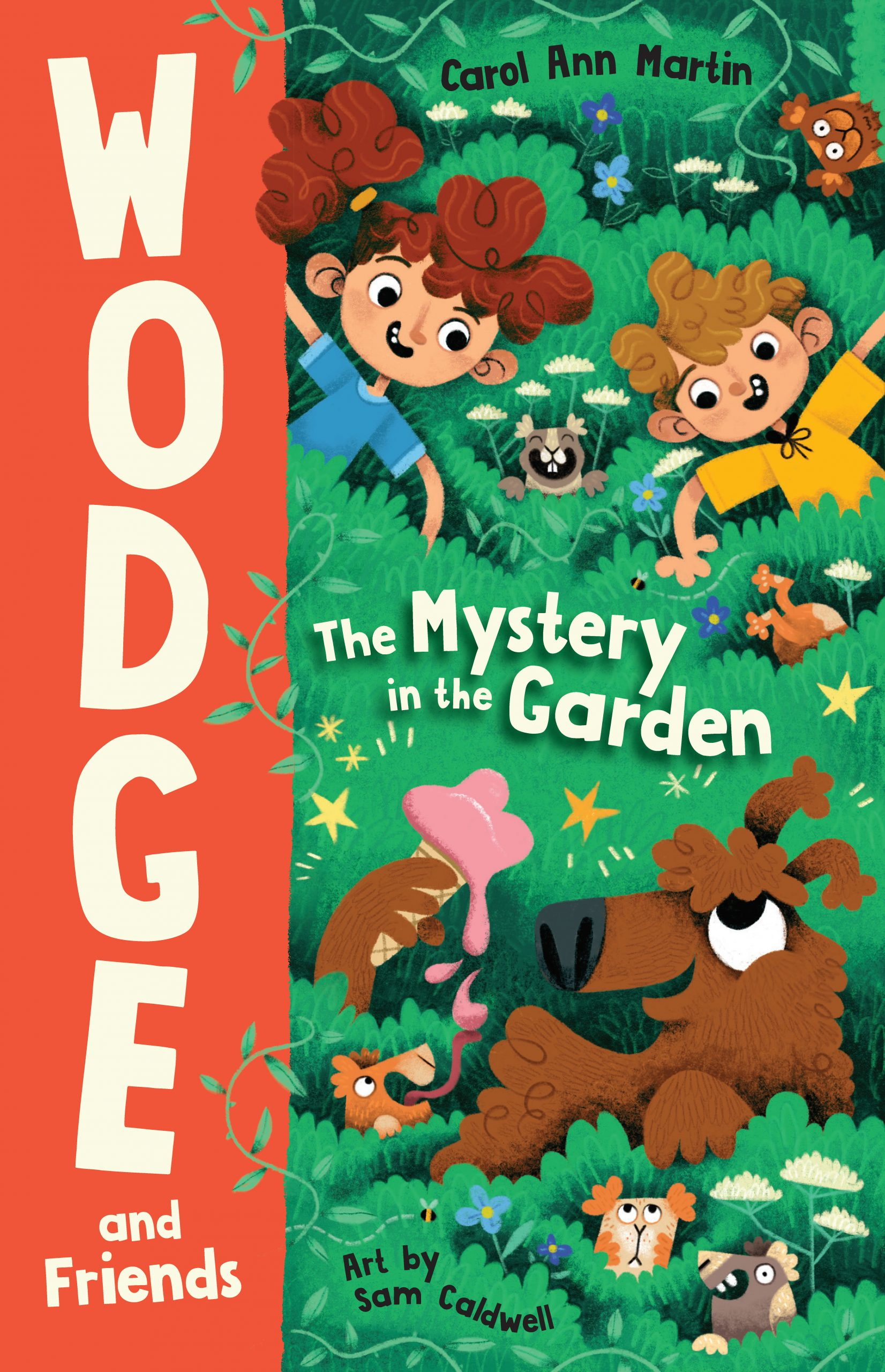 Wodge and Friends: The Mystery in the Garden