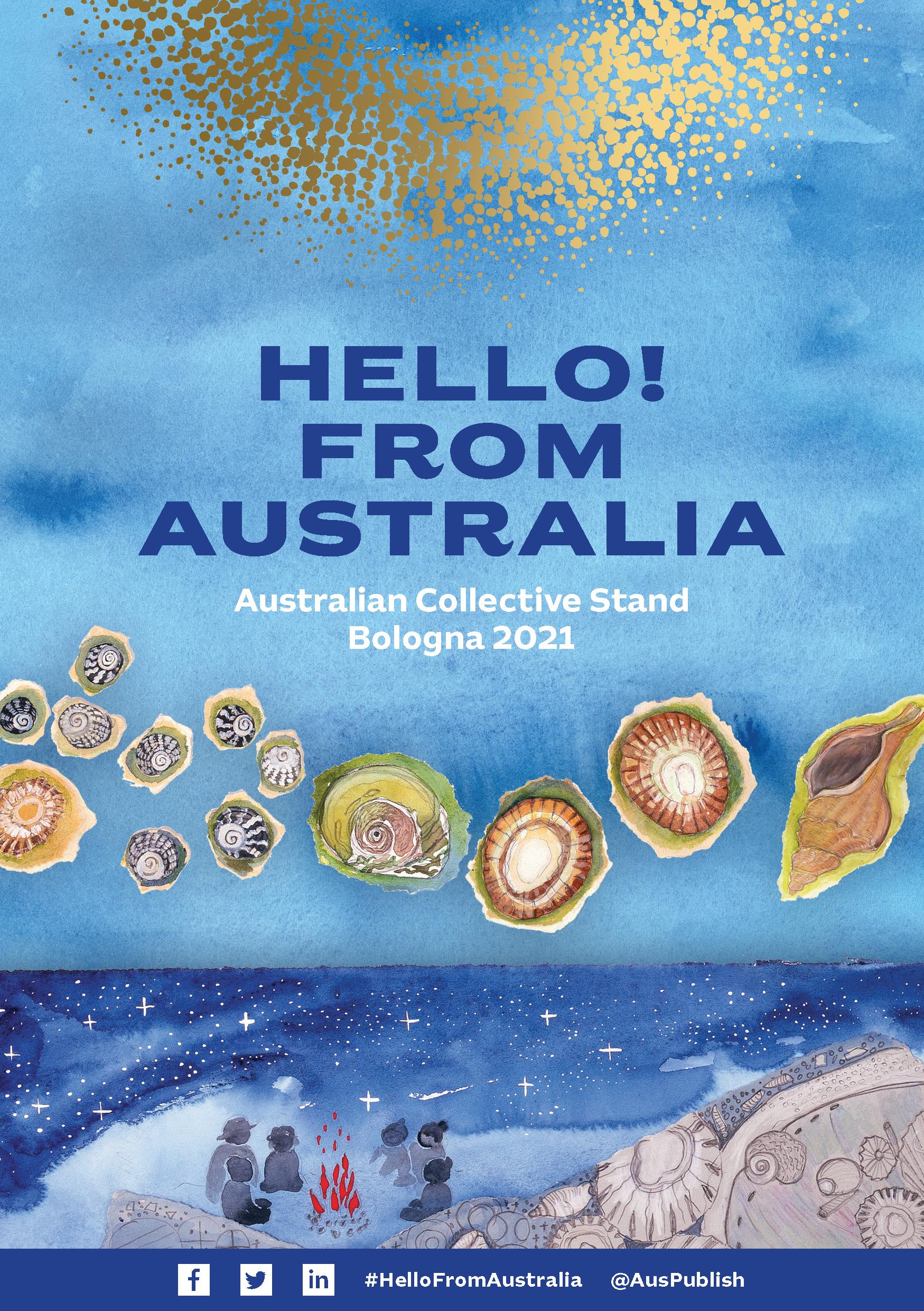Hello! From Australia - Bologna Children's Book Fair 2021 Australian Collective Catalogue