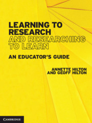 Learning to Research and Researching to Learn