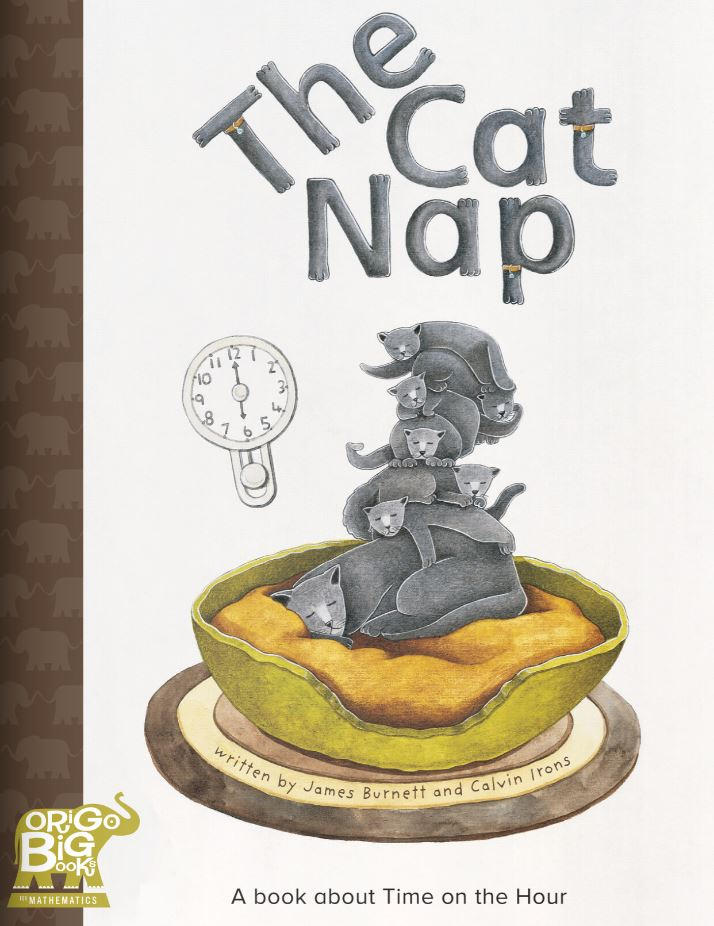 The Cat Nap: A book about Time on the Hour