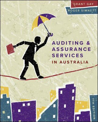 Auditing & Assurance Services in Australia, 7th Edition