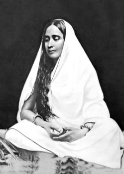 Holy Mother Sri Sarada Devi First photo