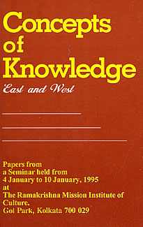 Concepts of Knowledge: East and West