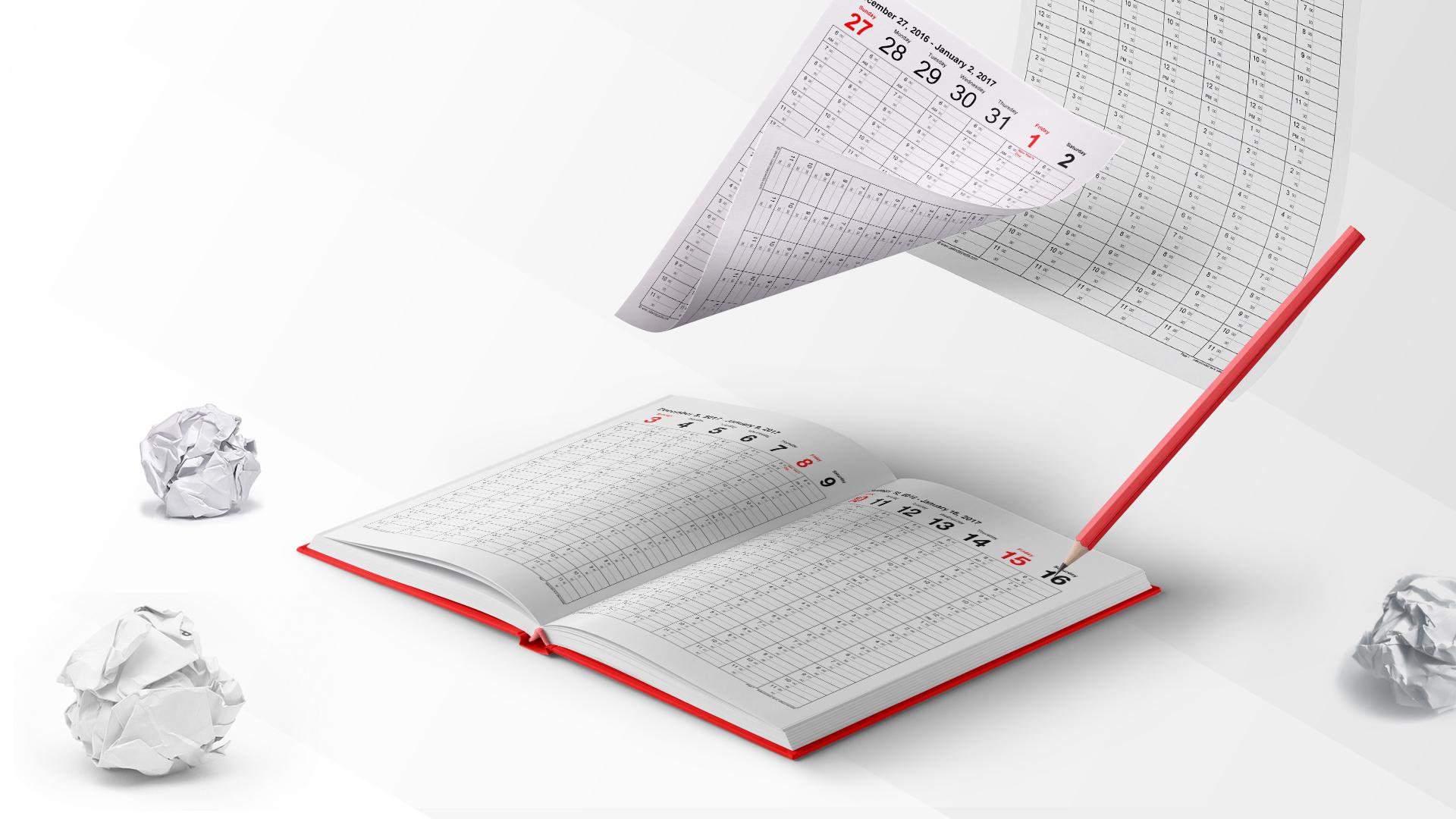 Stop using paper agenda
