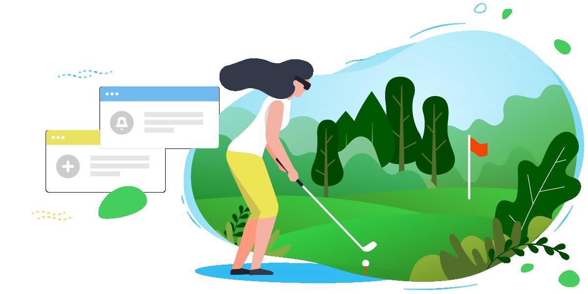 increase golf simulators revenues