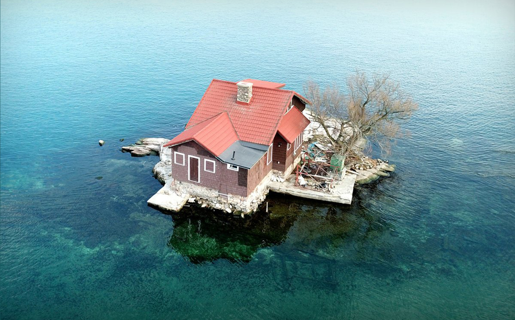 Family Lives In Tiny House On Island The Size Of A Tennis