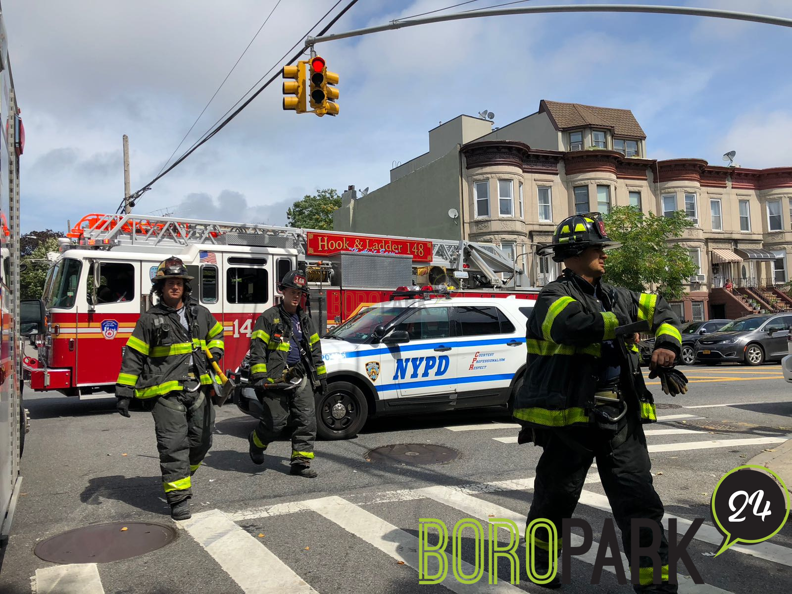 3 Car Accident on 47th Street – Boro Park 24