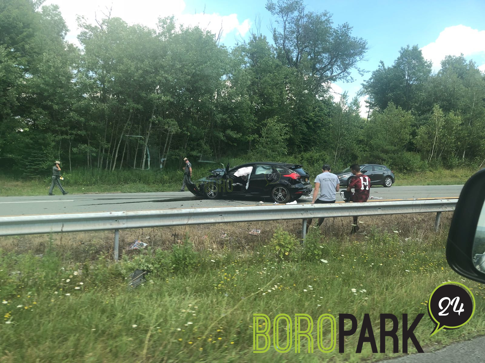Accident On Route 17 In Harris – Boro Park 24