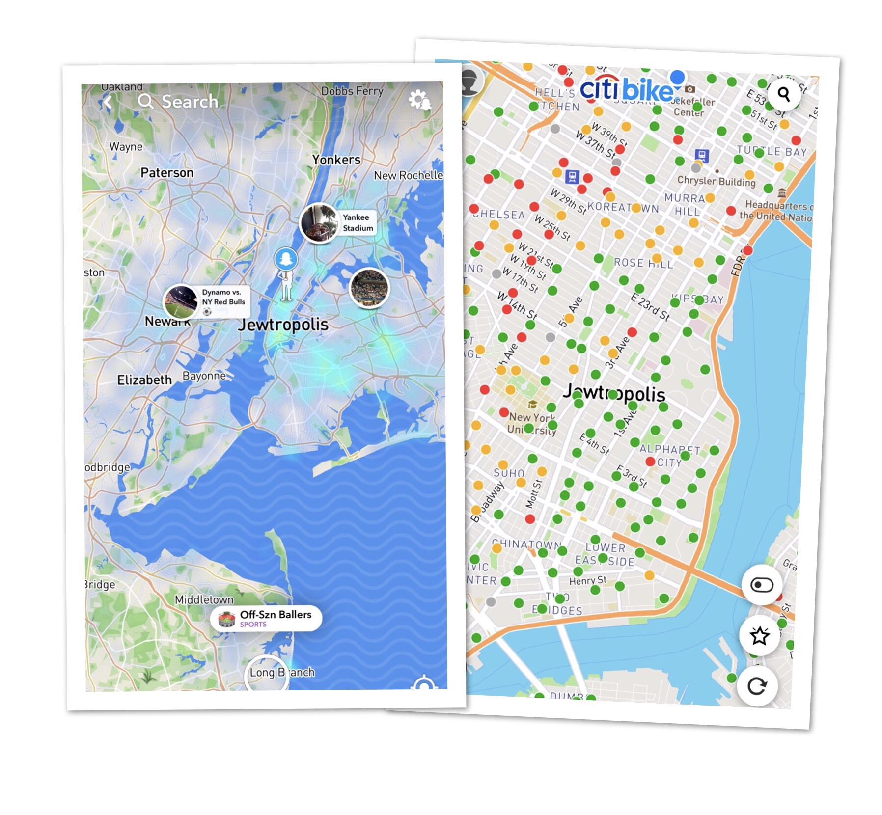 Users outraged in NYC after Apparent Map Hack in Snapchat shows NYC