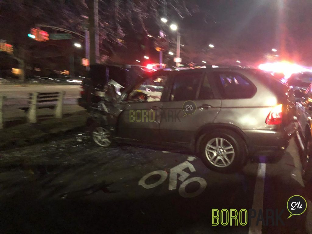 Driver Thankful to Emerge Alive From Car Accident – Boro Park 24