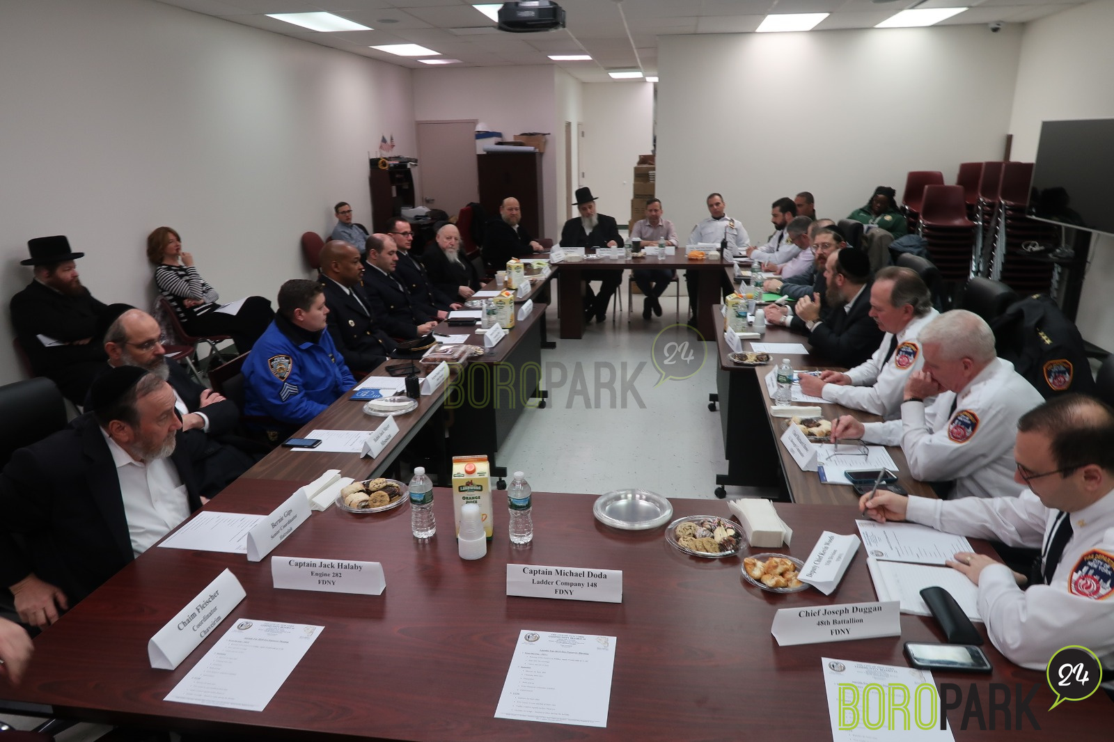 Community Board 12 Meets With City Agencies, Elected