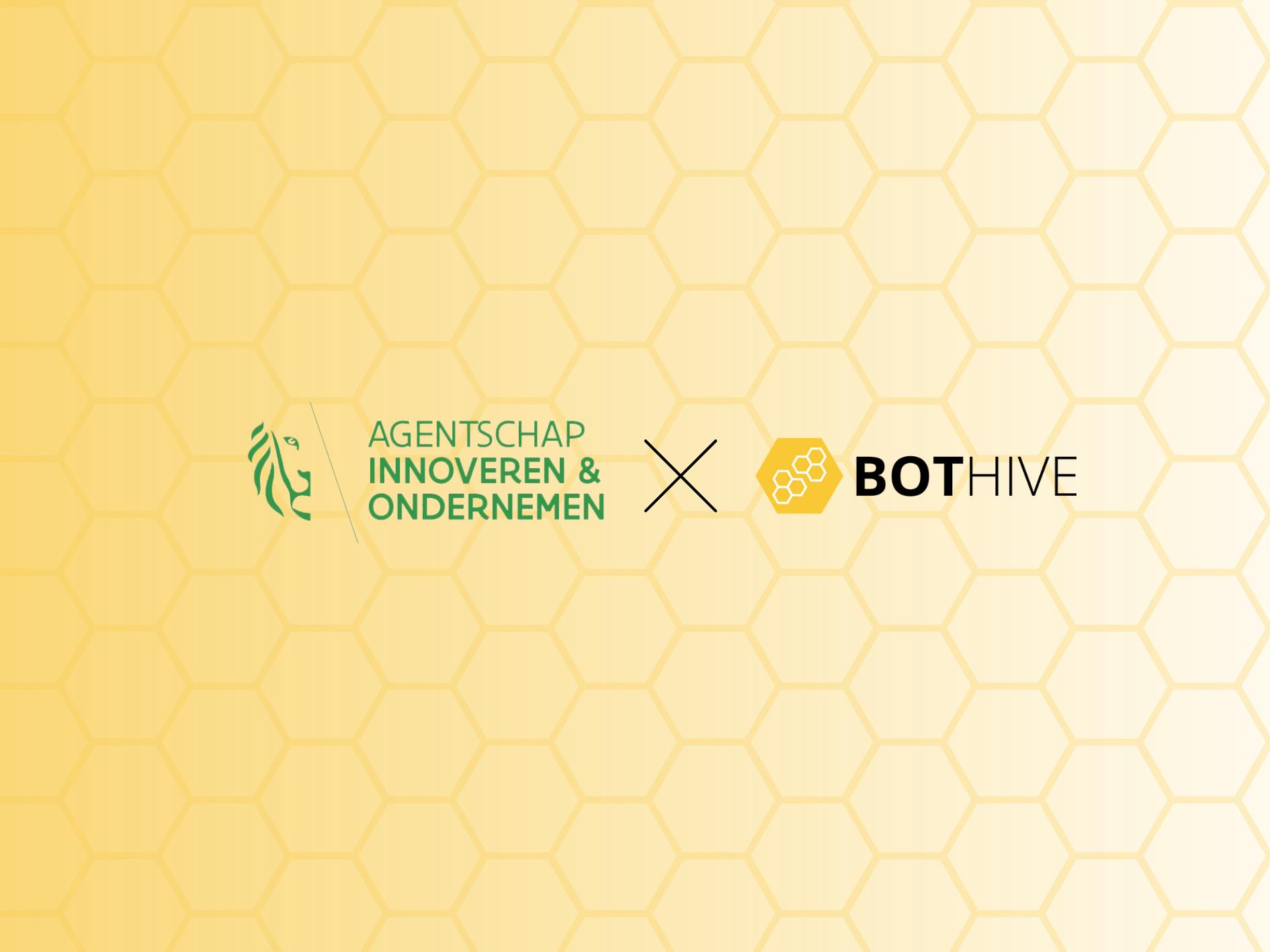 Bothive | Bothive en VLAIO bouwen chatbot voor startende ondernemers