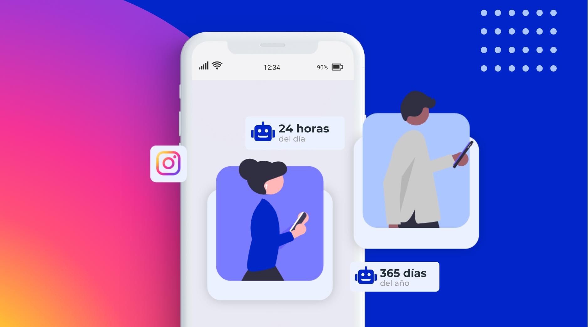 ¿Qué puedo automatizar en Instagram?