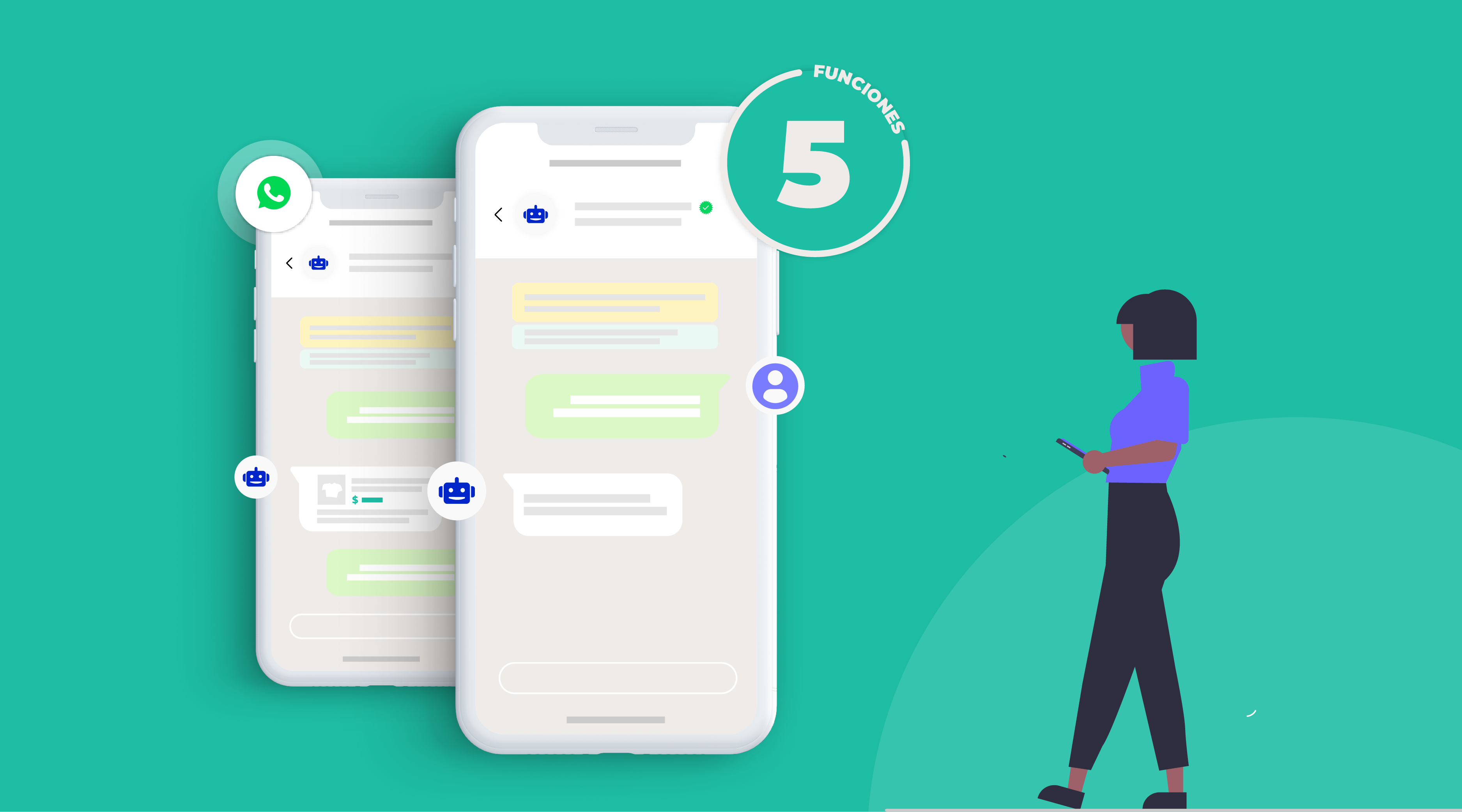 ¿Qué ventajas te da automatizar en WhatsApp Business API? 5 funciones...