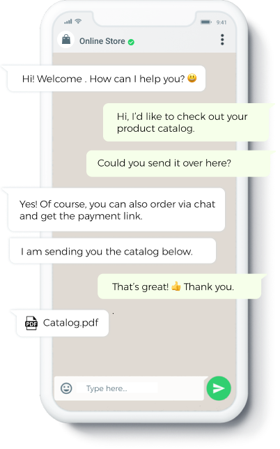 chat smartphone bot