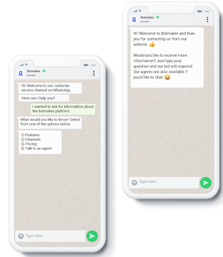 Bring the best of Botmaker and WhatsApp to your clients