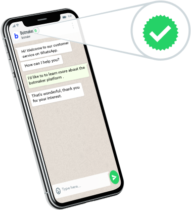 Botmaker is a Certified WhatsApp Solution Provider""