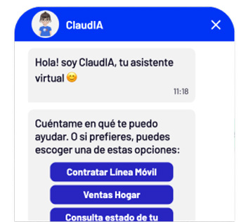 "<span class=""text-bold"">Entel</span>, a large regional telecommunications company, uses bots for <span class=""text-bold"">customer service and sales</span>"