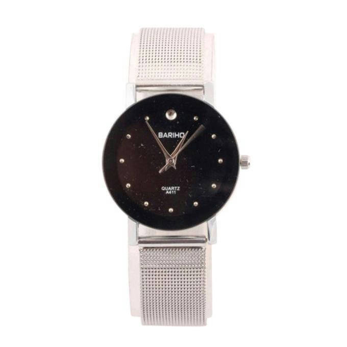 Silver Analogue Watch for Women - Bponi