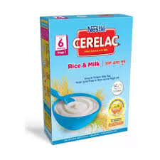 Cerelac Stage-1 (6-Months) 400gm Rice & Milk - Bponi