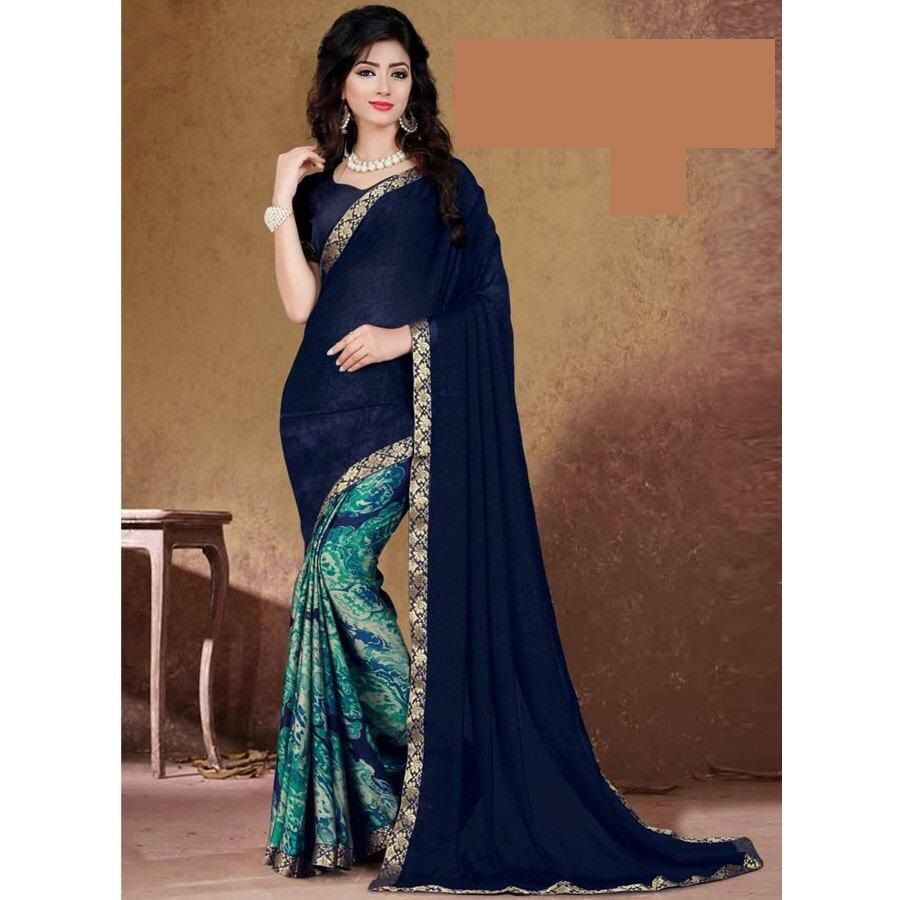Bponi - Fabric: Indian Georgette