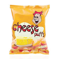 Cheese Puffs Chips 25gm - Bponi