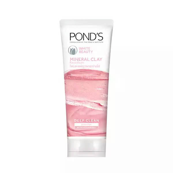 Bponi | Ponds White Beauty Mineral Clay Instant Brightness Face Wash Foam