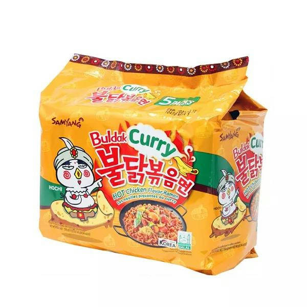 Bponi - Samyang Hot Chicken Curry Noodles