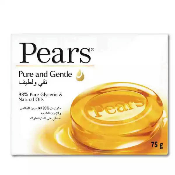 Bponi - Pears Transparent Soap Pure And Gentle With Glycerin & Natural Oils