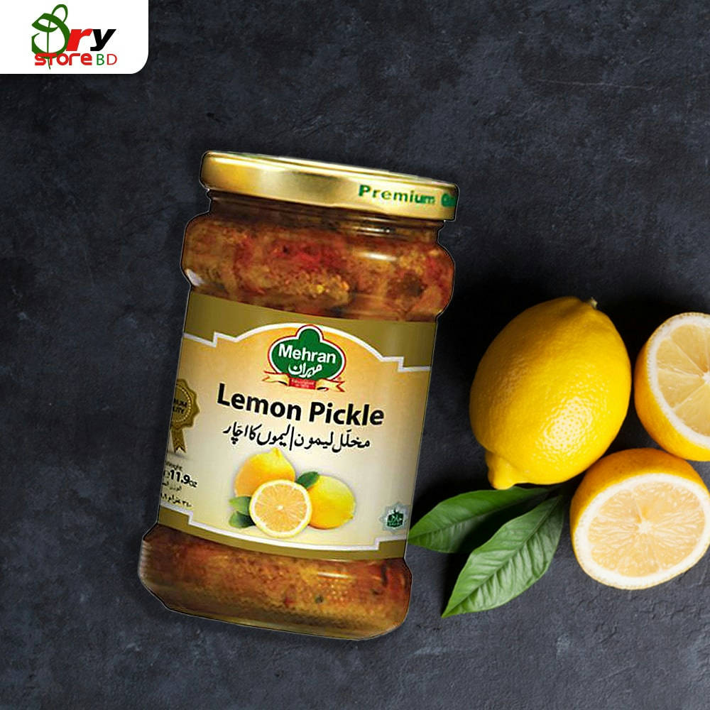 Mehran Lemon Pickle - 340g.  - Bponi
