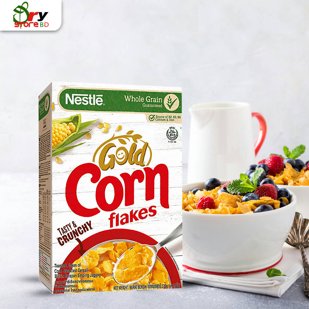 Nestle Gold Corn flakes - 275g. - Bponi