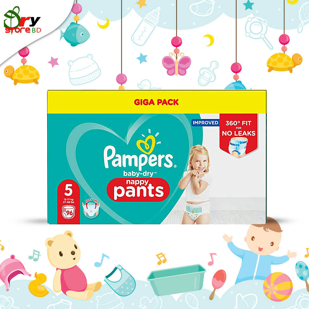 Pampers nappy pants 5.(Full). - Bponi