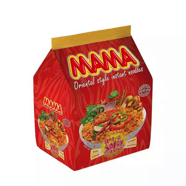 Bponi - Mama Instant Noodles Hot & Spicy Flavour