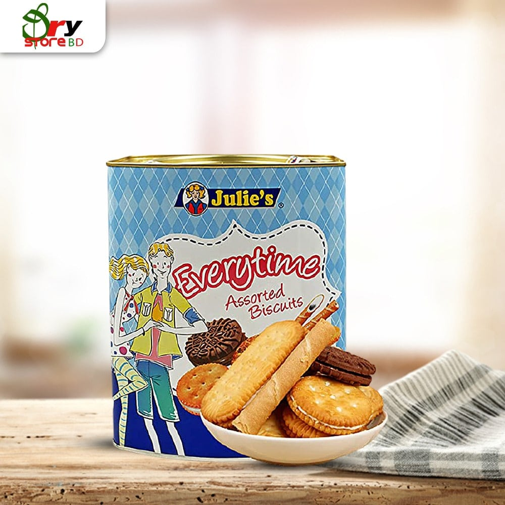 Julie's Everytime Assorted Biscuits – 530g - Bponi