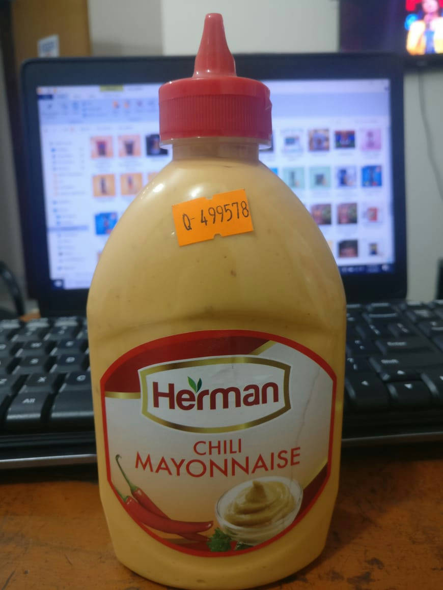 Herman Chili Mayonnaise - 500ml. - Bponi