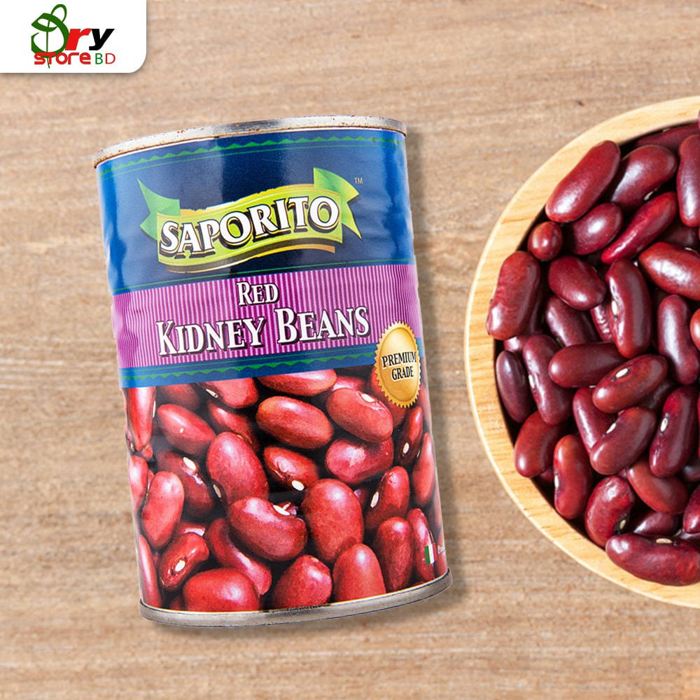 Saporito Can Food - Red Kidney Beans-400gm - Bponi