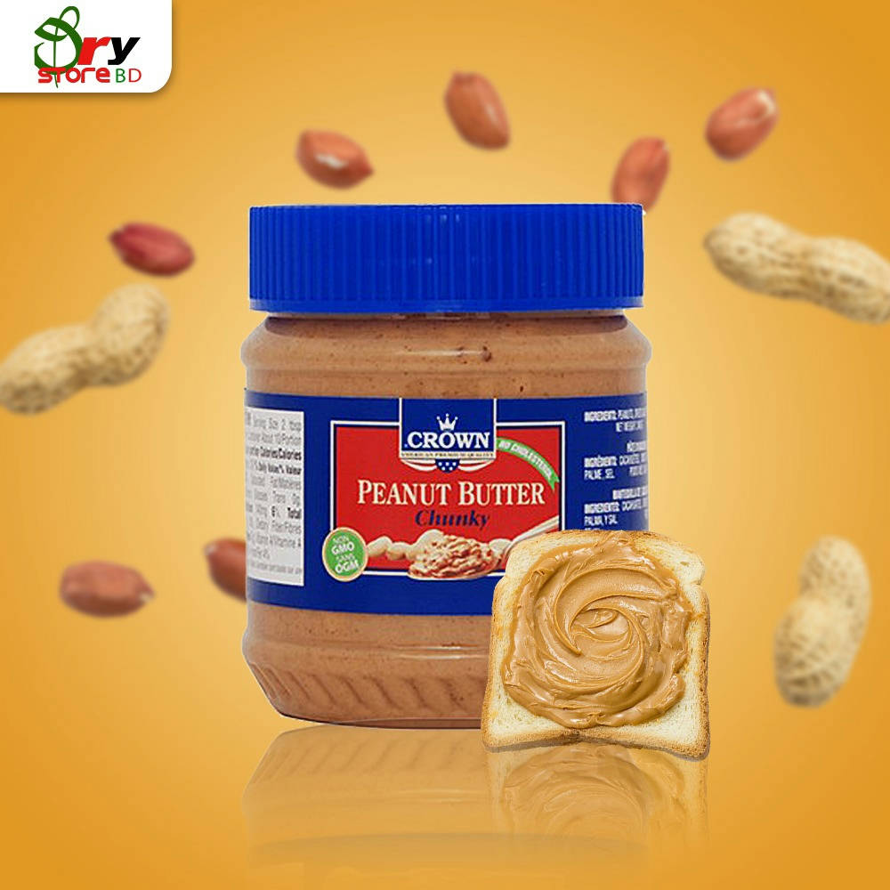 Crown Peanut Butter Chunky - 510 gm. - Bponi
