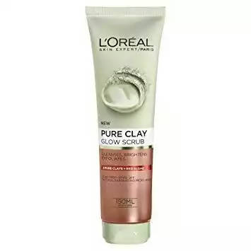 Bponi   L'Oreal Pure Clay Glow Scurb Face Wash