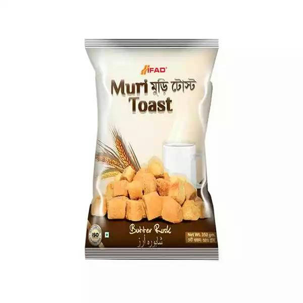 Bponi - Ifad Muri Toast Butter Rusk Biscuit