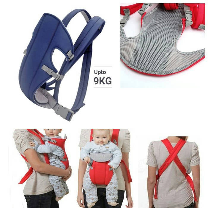Bponi - Baby Carry Bag red and blue