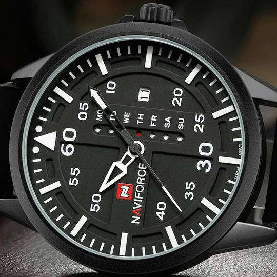 Bponi - NAVIFORCE Luxury Brand Men Army Military Watches Men's NF9074/Available in 4 colors.