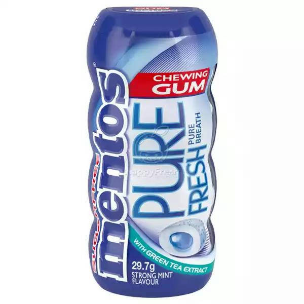 Bponi   Mentos Pure Fresh Chewing Strong Mint Sugarfree Gum